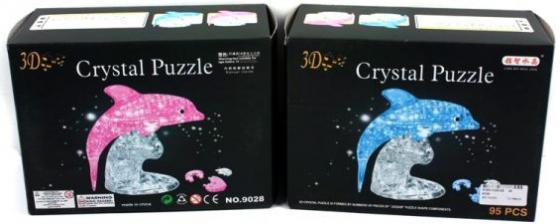 Пазл 3D 95 элементов Shantou Gepai Дельфин 9028 пазл 3d shantou gepai заяц 56 элементов 9027