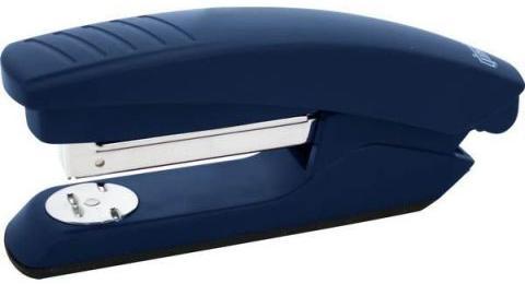 Степлер, скоба №24/6, на 20 листов, пластиковый корпус, синий цена