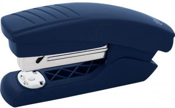 Степлер, скоба №24/6, на 15 листов, пластиковый корпус, синий