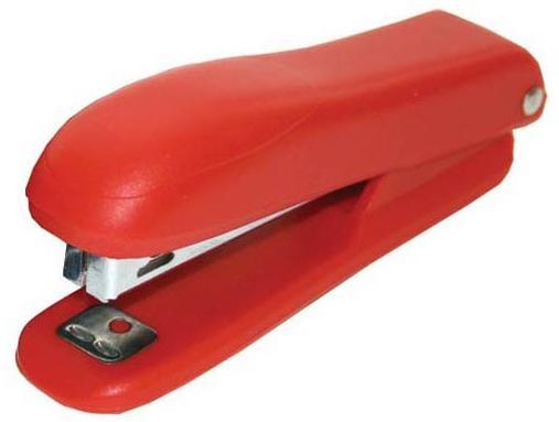 Степлер, скоба №10, на 10 листов, пластиковый корпус, ассорти степлер скоба 10 на 10 листов пластиковый корпус черный