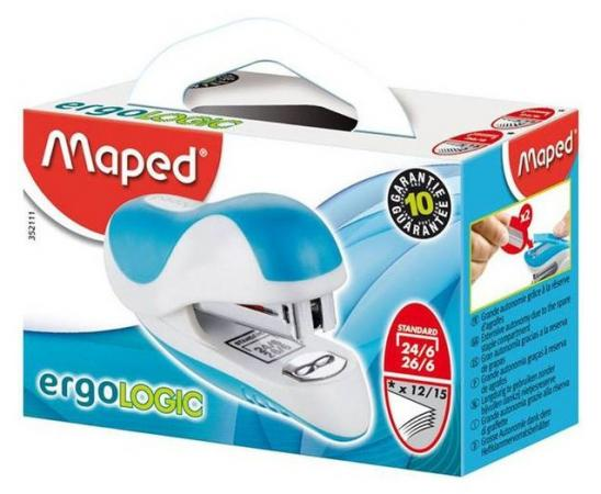 Степлер Maped Ergologic 15 листов 352111 maped ergologic
