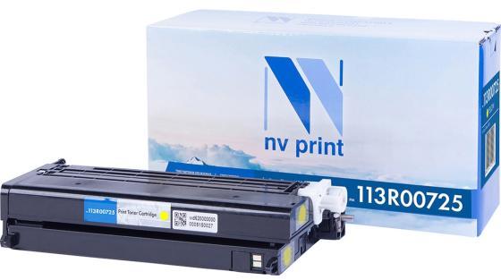 Фото - Картридж NV-Print 113R00725 для Xerox Phaser 6180 Phaser 6180MFP 6000стр Желтый картридж nv print 108r00796 для xerox phaser 3635 10000k
