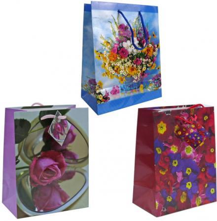 Пакет подарочный Winter Wings BG1373/A 17,8 х 22,9 х 9,8 см пакет подарочный феникс презент дед мороз в санях 17 8 х 22 9 х 9 8 см