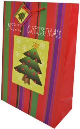 Пакет подарочный WINTER WINGS BG6672 26х38х12.7 см в ассортименте пакет подарочный winter wings пластиковый 30 х 30 х 10 см в ассортименте