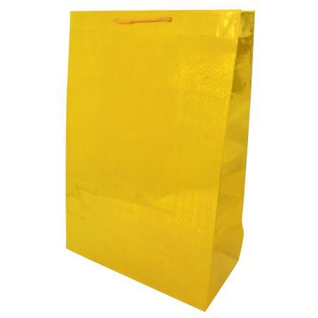 Пакет подарочный бумажный ламинированный голография. Размер: 260*380*127 мм.,6 видов, 1шт. пакет подарочный бумажный s1494 голография 28x18x10 см 5 видов в ассортименте