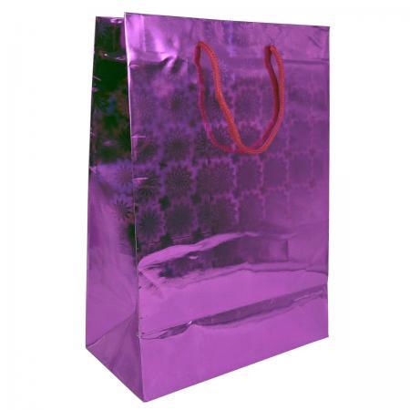 Пакет подарочный бумажный ламинированный голография. Размер: 210*300*110 мм.,6 видов, 1шт. пакет подарочный бумажный s1494 голография 28x18x10 см 5 видов в ассортименте