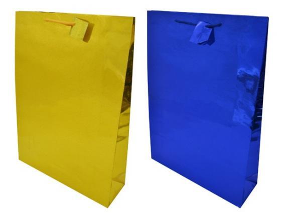 Пакет подарочный бумажный ламинированный голография. Размер: 330*457*102 мм.,6 видов, 1шт. пакет подарочный бумажный s1494 голография 28x18x10 см 5 видов в ассортименте