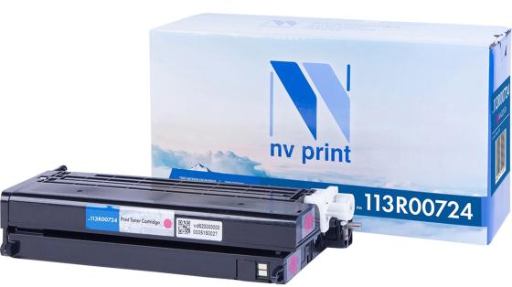 Фото - Картридж NV-Print 113R00724 для Xerox Phaser 6180 Phaser 6180MFP 6000стр Пурпурный картридж nv print 108r00796 для xerox phaser 3635 10000k