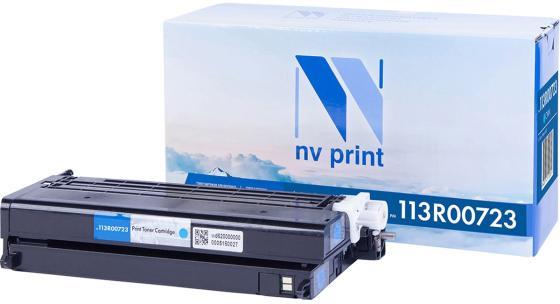 Фото - Картридж NV-Print 113R00723 для Xerox Phaser 6180 Phaser 6180MFP 6000стр Голубой картридж nv print 108r00796 для xerox phaser 3635 10000k