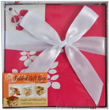 Коробка подарочная Golden Gift ЦВЕТОЧНЫЙ УЗОР 15х15х15 см PW1054/154