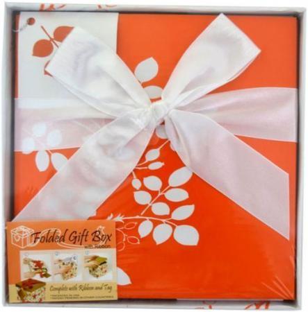 Коробка подарочная Golden Gift Цветочный узор 17x17x17 см PW1054/175 коробка подарочная golden gift клетка 25x25x25 см pw1055 255