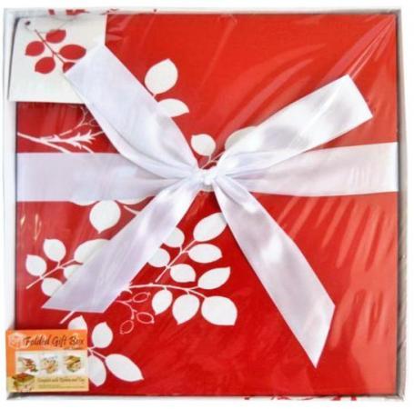 Коробка подарочная Golden Gift цветочный узор 30x30x29 см PW1054/305 коробка подарочная golden gift pw1057 224 22х22х21 см
