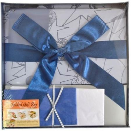 Коробка подарочная Golden Gift PW1056/224 22х22х13 см ik colouring new design retro hollow golden auto self windmechanical luxury watch men skeleton wristwatch original box for gift