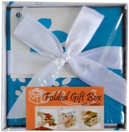 Коробка подарочная Golden Gift ЦВЕТОЧНЫЙ УЗОР 10х10х9 см PW1054/103