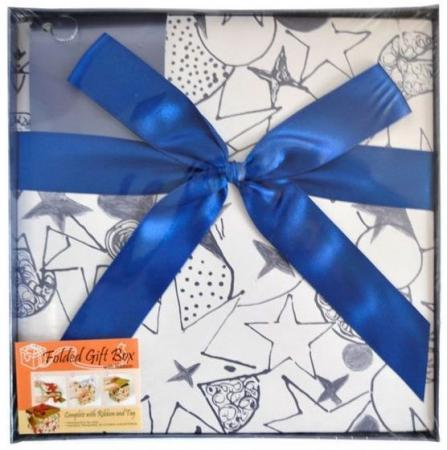 Коробка подарочная Golden Gift PW1057/224 22х22х21 см коробка подарочная golden gift pw1057 224 22х22х21 см