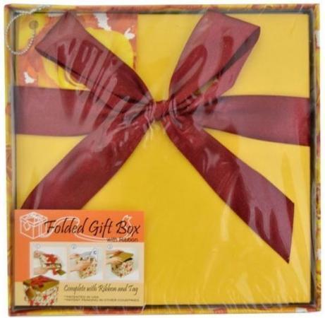 Коробка подарочная Golden Gift ЦВЕТЫ 15х15х15 см PW1058/154 valentine s day gift 24k gold foil rose golden