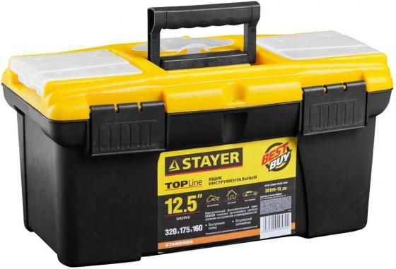 """Ящик для инструмента Stayer Standard VEGA 12"""" пластиковый с органайзерами 38105-13_z02 цены"""