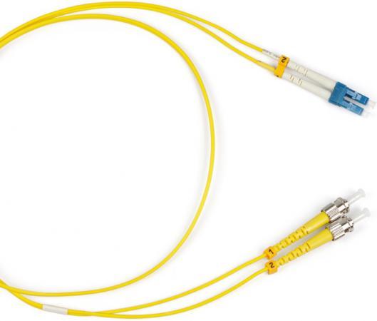 Патч-корд Hyperline FC-9-ST-LC-UPC-5M волоконно-оптический шнур 5м fc 550
