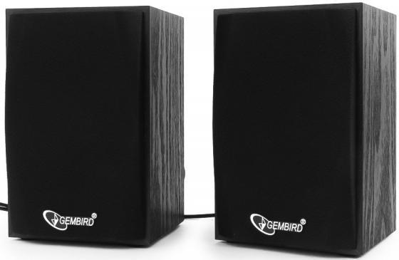 Колонки Gembird SPK-201 2х2.5 Вт черный