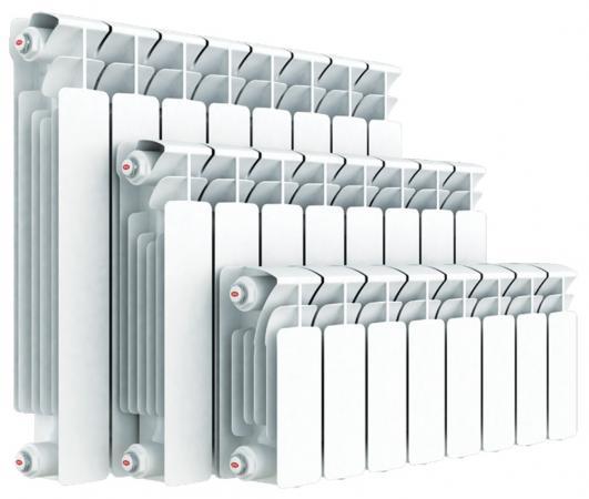 Биметаллический радиатор RIFAR (Рифар) B 350 НП 4 сек. прав. (Кол-во секций: 4; Мощность, Вт: 544; Подключение: правое) биметаллический радиатор rifar рифар b 500 нп 11 сек прав кол во секций 11 мощность вт 2244 подключение правое