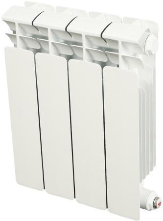 Биметаллический радиатор RIFAR (Рифар) B 200 НП 4 сек. прав. (Кол-во секций: 4; Мощность, Вт: 416; Подключение: правое) биметаллический радиатор rifar рифар b 500 нп 10 сек лев кол во секций 10 мощность вт 2040 подключение левое