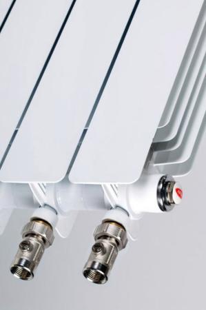 Биметаллический радиатор RIFAR Monolit Ventil 500 9 сек. прав. (Кол-во секций: 9; Мощность, Вт: 1764; Подключение: правое) биметаллический радиатор rifar monolit 500 сек 14