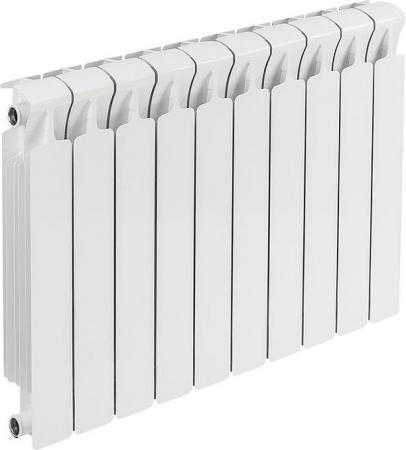 Биметаллический радиатор RIFAR Monolit Ventil  500 10 сек. прав. (Кол-во секций: 10; Мощность, Вт: 1960; Подключение: правое) алюминиевый радиатор rifar alum 500 10 сек