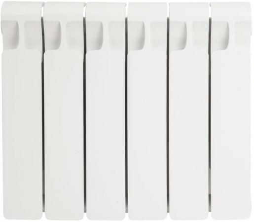 Биметаллический радиатор RIFAR Monolit Ventil 350  6 сек. прав. (Кол-во секций: 6; Мощность, Вт: 804; Подключение: правое) биметаллический радиатор rifar monolit ventil mvr 350 08