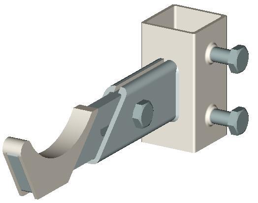 твек.12.5.new. Кронштейн для стойки TESI (IRSAP) (Код: твек.12.5.new.) кронштейн твек 6 9 купить