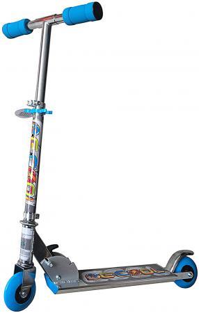 Самокат двухколёсный X-Match Be Сool 4 синий 64657 самокат трехколёсный x match скутер голубой 125 мм pvc светящ 100% легкосплавн 64459