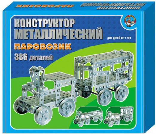 Конструктор Десятое королевство Паровозик 386 элементов 949