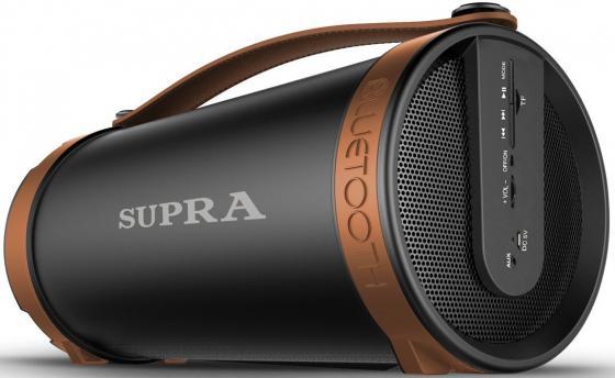 Портативная акустикаSupra BTS-877 черно-коричневый колонка supra bts 877