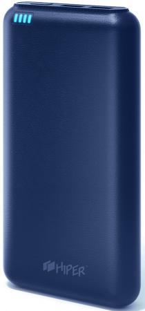Фото - Портативное зарядное устройство HIPER SP20000 20000мАч синий внешний аккумулятор для портативных устройств hiper circle 500 blue circle500blue
