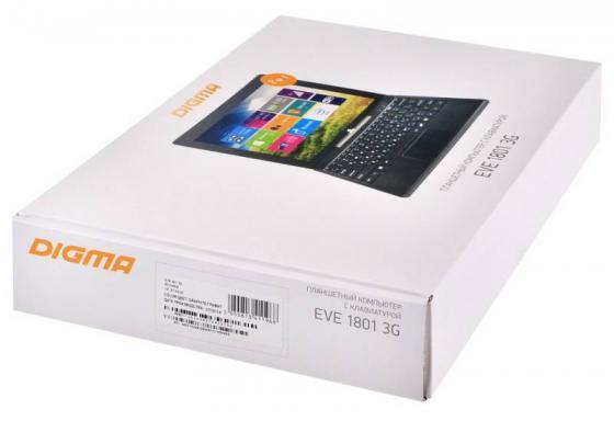 Фото Планшет Digma EVE 1801 3G 10.1 32Gb серый Wi-Fi Bluetooth 3G Windows ES1049EG 373439 сотовый телефон digma linx a177 2g