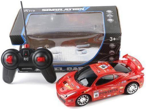 Машинка на радиоуправлении Shantou Gepai Model Car красный от 3 лет  987-61