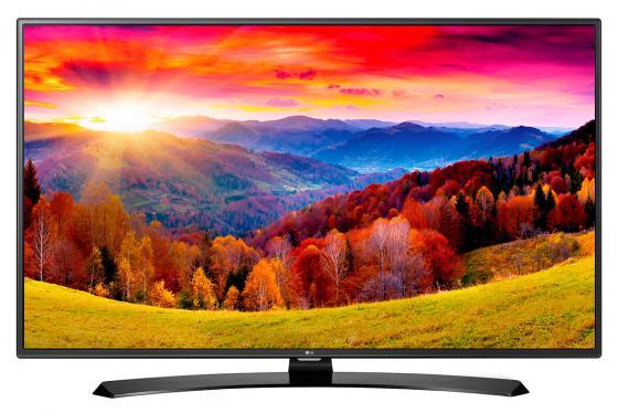 Телевизор LED 43 LG 43LH604V черный 1920x1080 Wi-Fi SCART RJ-45 WiDi телевизор lg 43lh604v