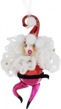 Елочные украшения Winter Wings Дед Мороз 16 см 1 шт стекло N07510 цены онлайн