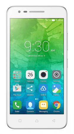 Смартфон Lenovo Vibe C2 белый 5 16 Гб LTE Wi-Fi GPS 3G PA450104RU аксессуар чехол lenovo k10 vibe c2 k10a40 zibelino classico black zcl len k10a40 blk