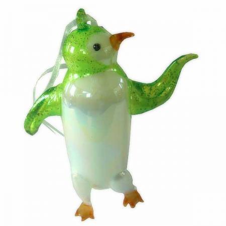 Украшение Winter Wings ПИНГВИН 13 см 1 шт разноцветный стекло N07512 рождественские rhinestone симпатичные пингвин брошь pin подарка xmas украшение партии