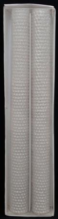 Набор свечей Winter Wings Жемчуг 2 шт 2х24.5 см набор свечей омский cвечной завод цвет оранжевый высота 24 см 10 шт