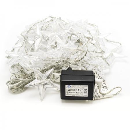 цены Гирлянда электрическая ЗАНАВЕС ЗВЕЗДЫ, 1,2х1,5 м, без контроллера N11281