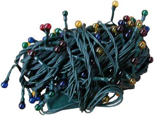 Гирлянда электрическая ромашка, 12 + 1,5 м, 200 ламп, прозрачная, цветная, с контроллером 11031 цена и фото