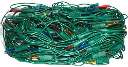 Гирлянда электрическая сетка, 2 x 0,95 м, 200 ламп, прозрачная, цветная, бегущие огни, с контроллеро цена и фото