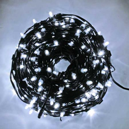 Гирлянда для деревьев уличная LED CLIP LIGHT, LED, 50 м, зеленый кабель N11262 cob 48 smd chip super white car dome light reading lamp 12v led dome bulb led car parking auto interior panel light