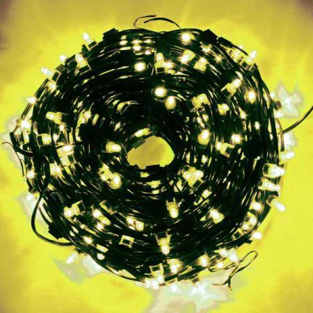 Гирлянда для деревьев уличная LED CLIP LIGHT, LED, 50 м, зеленый кабель|1 N11262/ЖЕЛТ