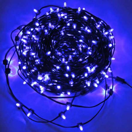 Гирлянда для деревьев уличная LED CLIP LIGHT, 50 м, зеленый кабель|3 цена