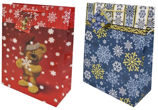 Пакет подарочный Winter Wings N13139 260х324х127 мм в ассортименте пакет подарочный бумажный s1511 с днем рождения 3 вида 32x26x13 см в ассортименте