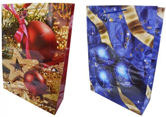 Пакет подарочный бумажный ламинированный, 508х711х178 мм, 2 вида пакет подарочный бумажный r31375