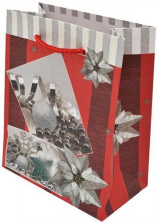 где купить Пакет подарочный бумажный крафт, 111х137х62 мм по лучшей цене