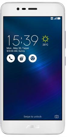 Смартфон ASUS ZenFone 3 Max ZC520TL серебристый 5.2 16 Гб LTE Wi-Fi GPS 3G 90AX0087-M00280 смартфон asus zenfone 3 max zc553kl серебристый 5 5 32 гб lte wi fi gps 3g 90ax00d3 m00300